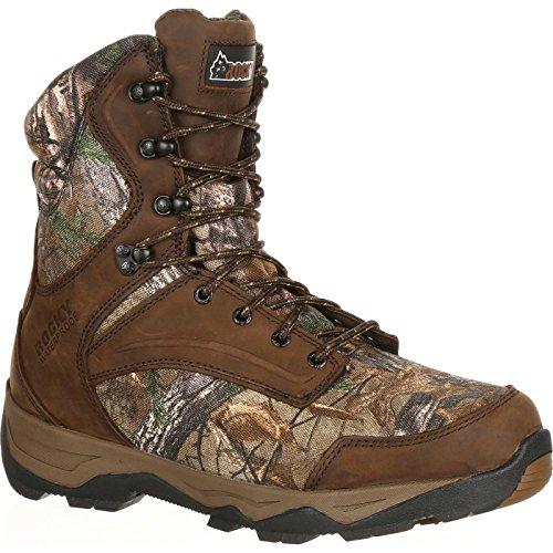 ROCKY Men's Mid Calf Boot, Realtree Xtra