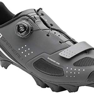 Louis Garneau Men's Granite 2 Mountain Bike MTB Shoes with BOA Adjustment System, Asphalt, US (9.5), EU (43)