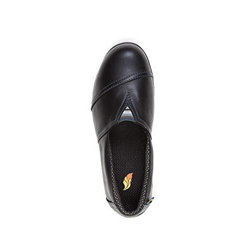 Featherlike, Clara, Women's Steel Toe, Safety Shoe, Comfort, Lightweight Featherlike, Clara, Women's Steel Toe, Safety Shoe, Comfort, Lightweight, CSA, ASTM Approved (8) Black