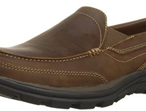 Skechers USA Men's Relaxed Fit Memory Foam Superior Gains Slip-On