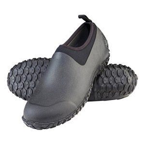 Muckster ll Men's Rubber Garden Shoes,black