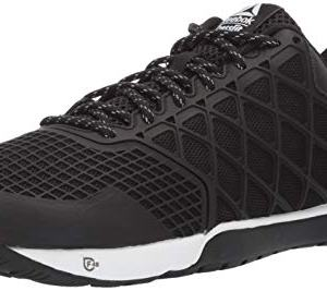 Reebok Men's CROSSFIT Nano 4.0 Cross Trainer, Black/White, 9.5 M US