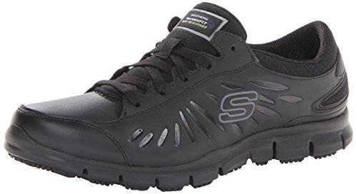 Skechers for Work Women's Eldred Work Shoe, Black
