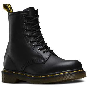 Dr. Martens Men's Re-Invented 8 Eye Lace Up Boot,Black Nappa Leather