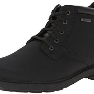 Rockport Men's Storm Surge Water Proof Plain Toe Boot Black
