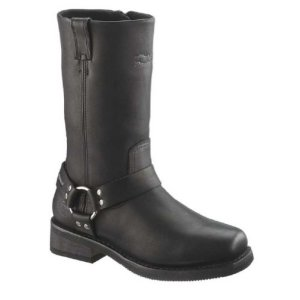 Harley-Davidson Men's Hustin Waterproof Harness Boot