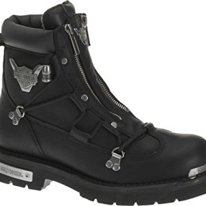 Harley-Davidson Men's Brake Light Riding Boot,Black