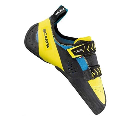 SCARPA Vapor V Climbing Shoe - Men's Ocean/Yellow