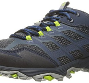 Merrell Men's Moab FST Hiking Shoe, Navy, 10 M US