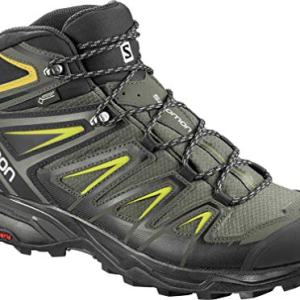 SALOMON X ULTRA 3 MID GTX MEN'S HIKING BOOTS CASTOR