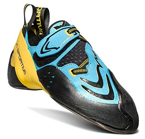 La Sportiva Futura Climbing Shoe, Blue/Yellow