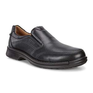 ECCO Men's Fusion II Slip On Casual Loafer Slip-On, Black