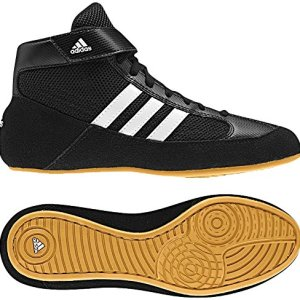 adidas Youth Boy's Kids Wrestling Mat Shoe Ankle Strap