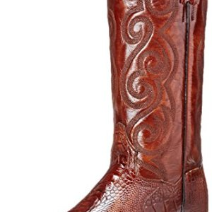 Dan Post Men's Bellevue Western Boot, Antique Tan