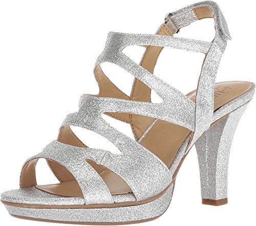 Naturalizer Women's Dianna Silver Glitter Synthetic
