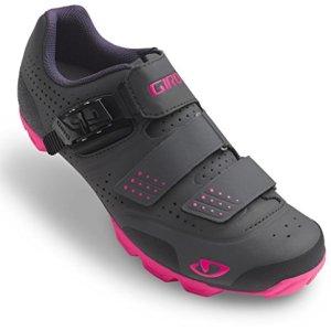 Giro Manta R Cycling Shoes - Women's Dark Shadow/Bright Pink 41