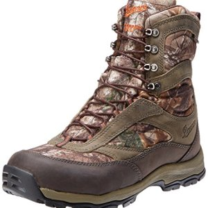 Danner Men's High Ground 8 Realtree X 1000G Hiking Boot,Brown/Green
