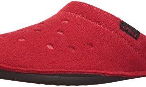 crocs Classic Slipper Mule, Pepper/Oatmeal