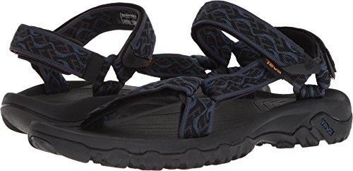 Teva Men's M Hurricane 4 Sport Sandal, Wavy Trail Navy