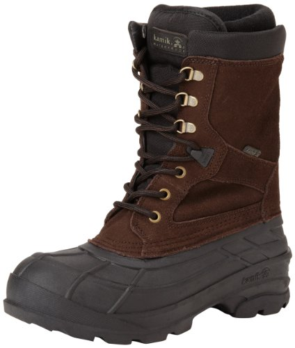 Kamik Men's Nationplus Snow Boot,Dark Brown