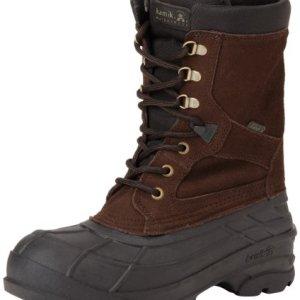 Kamik Men's Nationplus Snow Boot,Dark Brown