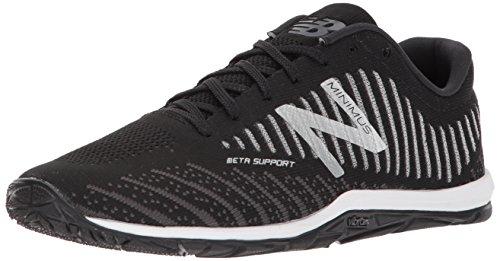 New Balance Men's 20v7 Minimus Training Shoe, Black/White, 10.5 D US
