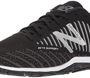 New Balance Men's 20v7 Minimus Training Shoe, Black/White, 10.5 D US