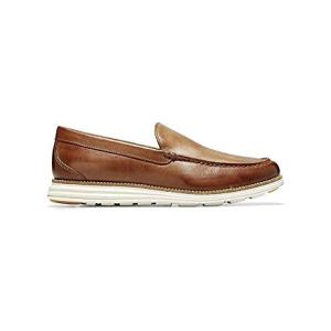 Cole Haan Men's Original Grand Venetian Slip-On Loafer, british tan/ivory, 11 M US