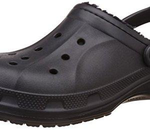 Crocs Unisex Ralen Lined Clog Black/Black