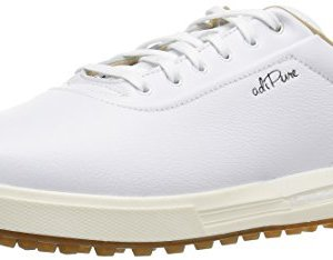 adidas Men's Adipure sp Golf Shoe, FTWR White/Grey Two