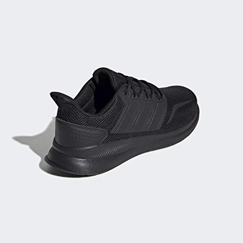 adidas Men's Falcon Running Shoe, Black