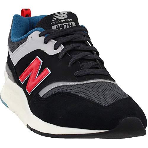 New Balance Men's V1 Sneaker, Magnet/Energy RED
