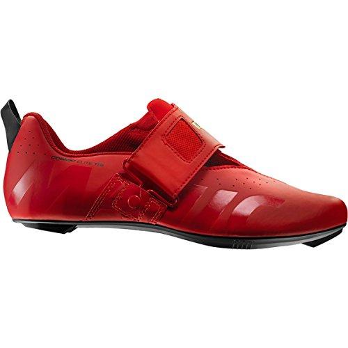 Mavic Cosmic Elite Tri Cycling Shoe - Men's Fiery Red/Black