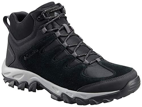 Columbia Men's Buxton Peak MID Waterproof Hiking Boot, Black