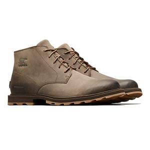 Sorel - Men's Madson Chukka Waterproof Boots, Leather, Major/Cordovan