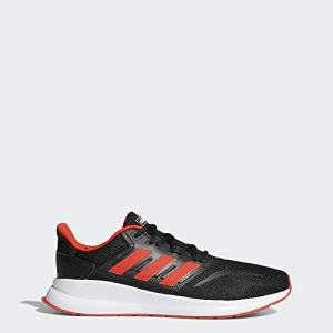 adidas Men's RunFalcon Running Shoe, Active Red/Black, 8.5 M US