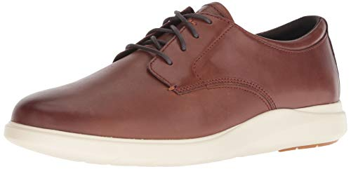 Cole Haan Men's Grand Plus Essex Wedge OX Oxford, Light Coffee/Ivory