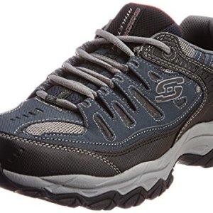 Skechers Men's AFTERBURNM.FIT Memory Foam Lace-Up Sneaker