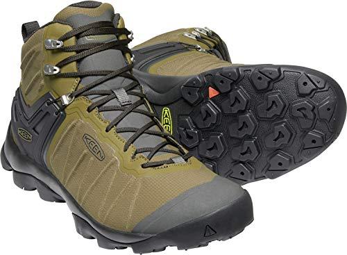 KEEN - Men's Venture Mid Waterproof Hiking Boot, Dark Olive/Raven, 10 US KEEN - Men's Venture Mid Waterproof Hiking Boot, Dark Olive/Raven, 10 US