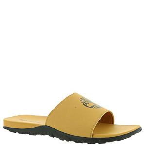 Timberland Men's Fells Sport Slide Sandal, Wheat with Black