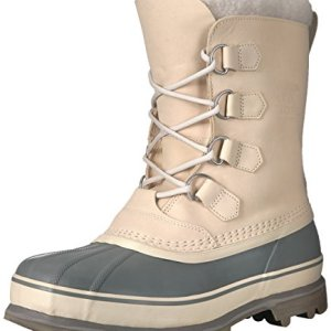 Sorel Men's Caribou Snow Boot, Oatmeal, Quarry