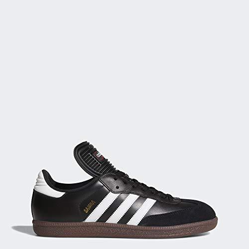 adidas Men's Samba Classic Soccer Shoe,Black/Running White