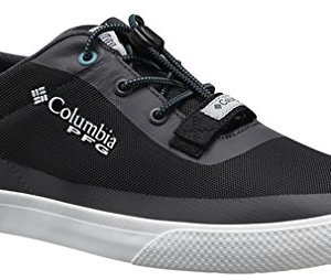 Columbia Men's Dorado CVO PFG Boat Shoes, Black/Emerald Sea