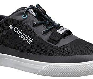 Columbia Men's Dorado CVO PFG Boat Shoes, Black/Emerald Sea