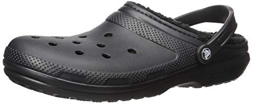 Crocs Classic Lined Clog Mule, Black