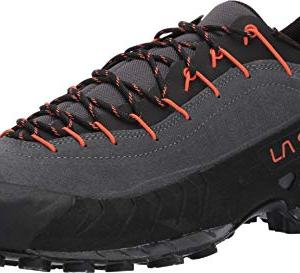 La Sportiva Approach Shoe, Carbon/Flame