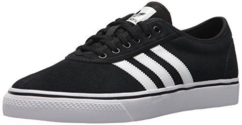 Adidas Originals Men's Adi-Ease Premiere Tennis Shoe, core Black/White/core Black, 9.5 M US