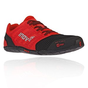 Inov-8 Mens Bare-XF 210 V2 - Barefoot Minimalist Cross Training Shoes - Zero Drop - Wide Toe Box - Versatile Shoe for Powerlifting & Gym - Calisthenics & Martial Arts - Black/Red 11 M US