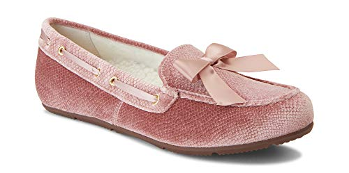 Vionic Women's Haven Alice Holiday Slipper - Ladies Moccasin