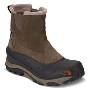 The North Face Men's Chilkat III Pull-On - Mudpack Brown & Bombay Orange